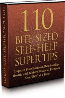 Pay for 110 Bite Sized Self-Help Super Tips with MRR & Giveaway Righ