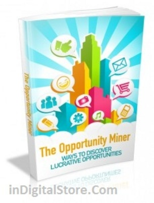 Pay for The Opportunity Miner with MRR & Giveaway Rights
