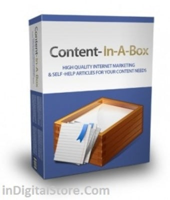 Pay for Content In A Box  - Article Package with MRR