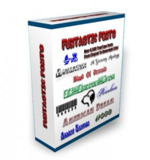 Pay for Fantastic Fonts - Graphics with Master Resell Rights