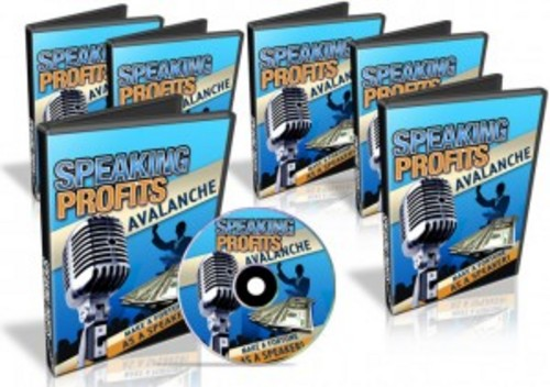 Pay for Speaking Profits Avalanche - Instruction Videos & Audios