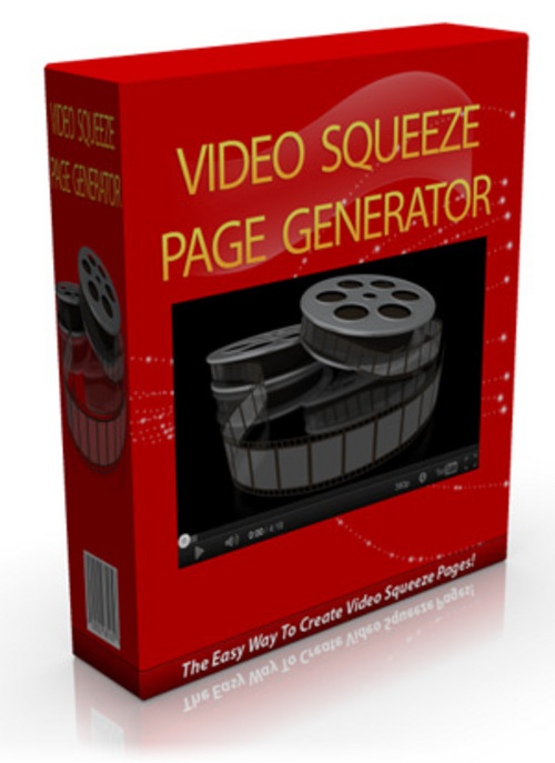 Pay for Video Squeeze Page Generator - Software & Video with MRR