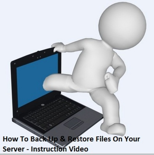Pay for How To Back Up & Restore Files On Your Server - Instruction Video