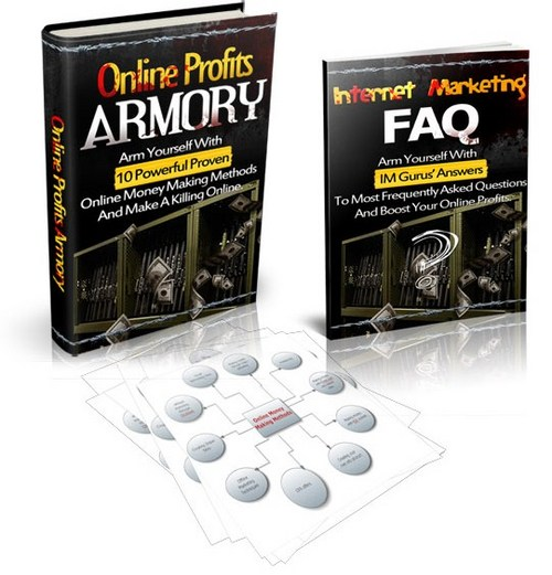 Pay for Online Profits Armory - Pdf & Audio Ebook with PLR