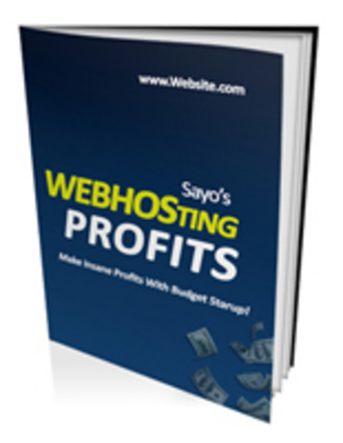 Pay for Webhosting Profits - Ebook with PLR