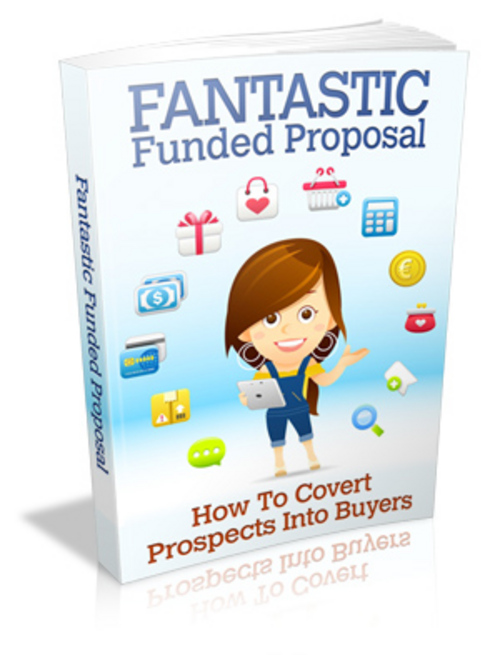 Pay for Fantastic Funded Proposal - Ebook with MRR