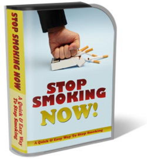 Stop smoking pack