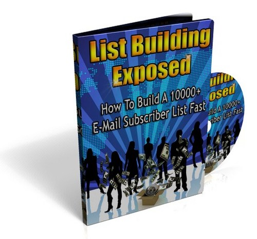 Pay for List Building Exposed - Instruction Video with PLR