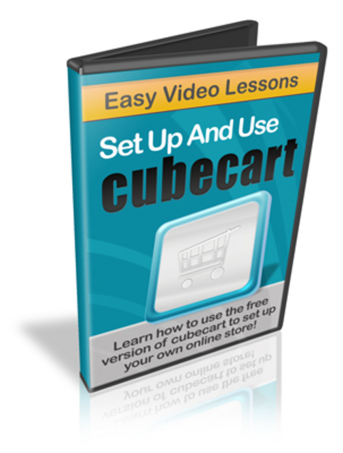 Pay for Setup And Use Cube Cart - Instruction Videos