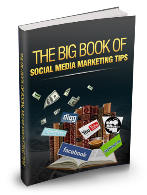 Pay for Big Book of Social Media Marketing Tips - Ebook with MRR