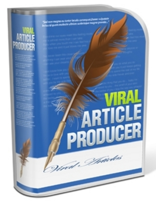 Pay for Viral Article Producer - Software with RR