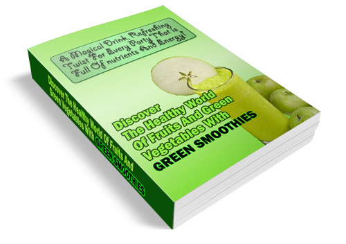 Pay for Green Smoothies - Ebook Pdf & Audio and Articles with MRR