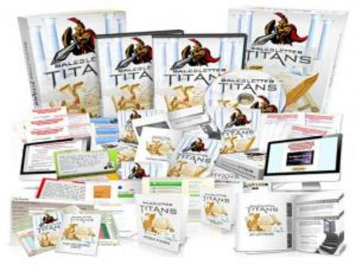 Pay for Sales Letter Titan with MRR