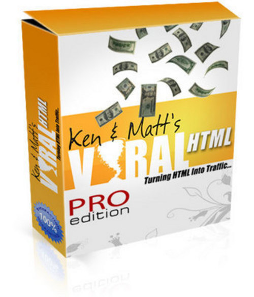 Pay for Viral HTML - Software with PLR