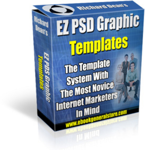 Pay for EZ PSD Graphic Templates - Graphics with MRR