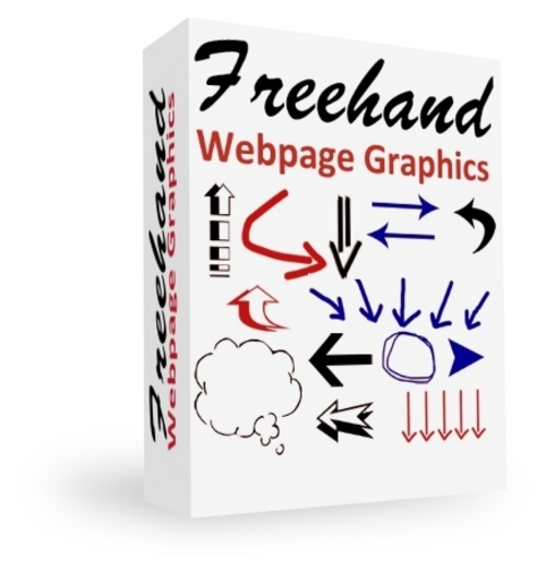 Pay for Freehand Webpage Graphics with PLR