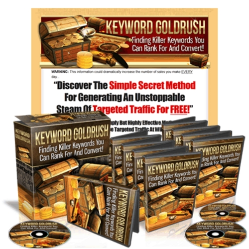 Pay for Keyword Goldrush - Instruction Videos & Ebook with MRR