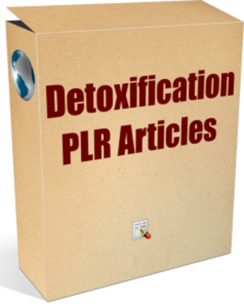 Pay for 25 Detoxification PLR Articles - Articles with PLR