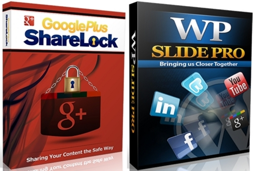 Pay for Google Plus Sharelock - Wordpress Plugin with RR