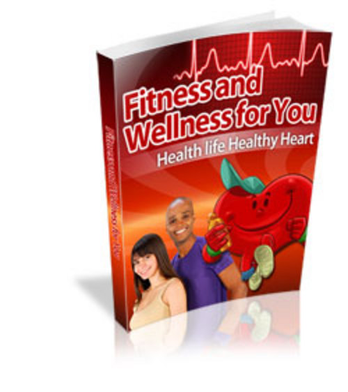 Pay for Fitness and Wellness For You - eBook with MRR