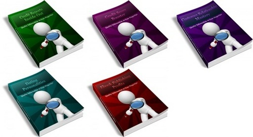 Pay for PLR Ebook Collection #5 - 5 eBooks with PLR