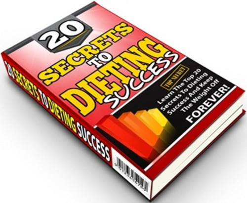 Pay for 20 Secrets To Dieting Success - eBook & Bonus with PLR