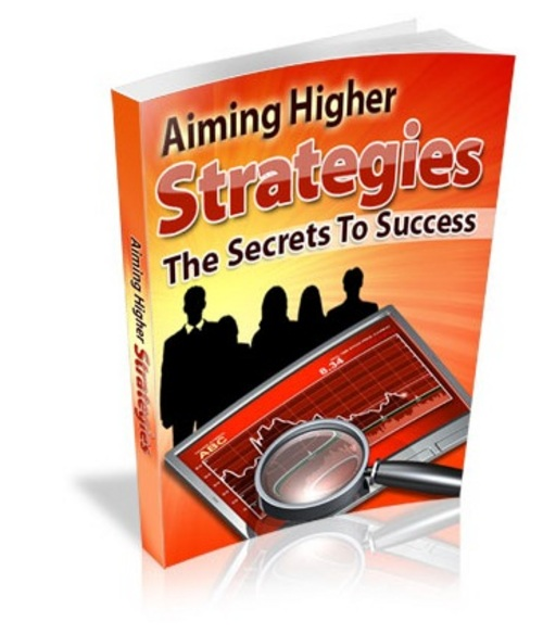 Pay for Aiming Higher Strategies - eBook with MRR