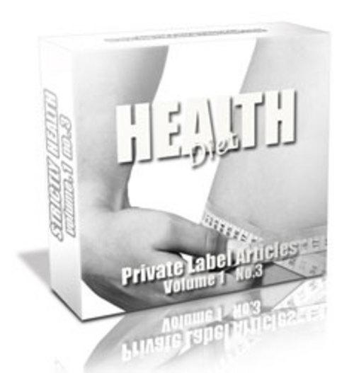Pay for 182 Health Diet PLR Articles - Articles with PLR