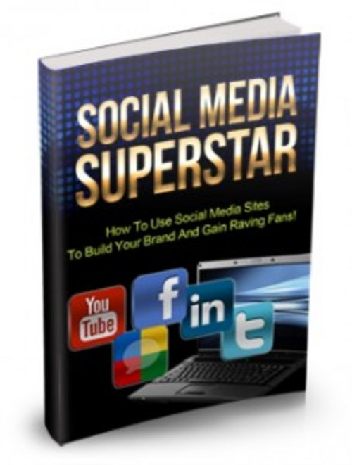 Pay for Social Media Superstar - eBook with MRR