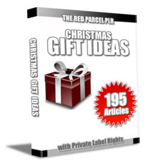 Pay for 195 Christmas Gift Ideas PLR Articles - Articles with PLR
