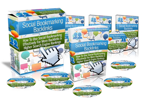 Pay for Social Bookmarking Backlinks - Instruction Videos with MRR