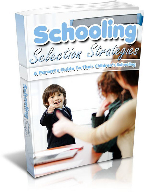 Pay for Schooling Selection Strategies - eBook with MRR