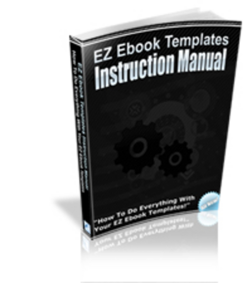Pay for EZ Ebook Templates Instruction Manual - eBook with MRR
