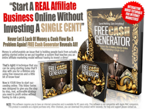 Pay for Free Cash Generator - Instruction Videos with MRR
