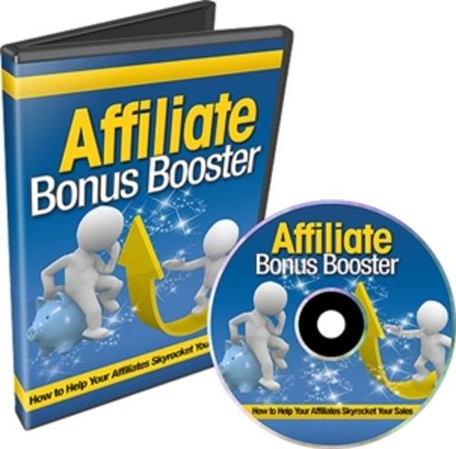 Pay for Affiliate Bonus Booster - Instruction Videos
