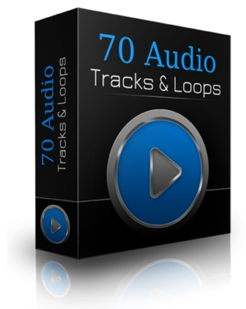 Pay for 70 Audio Tracks & Loops - Tracks & Loops with PLR