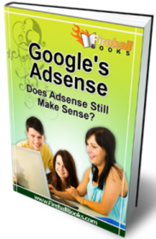 Pay for Google is Adsense - eBook with MRR