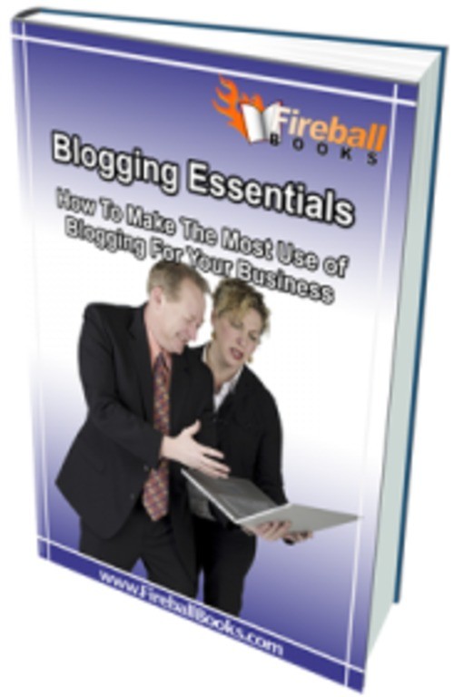 Pay for Blogging Essentials - eBook with MRR