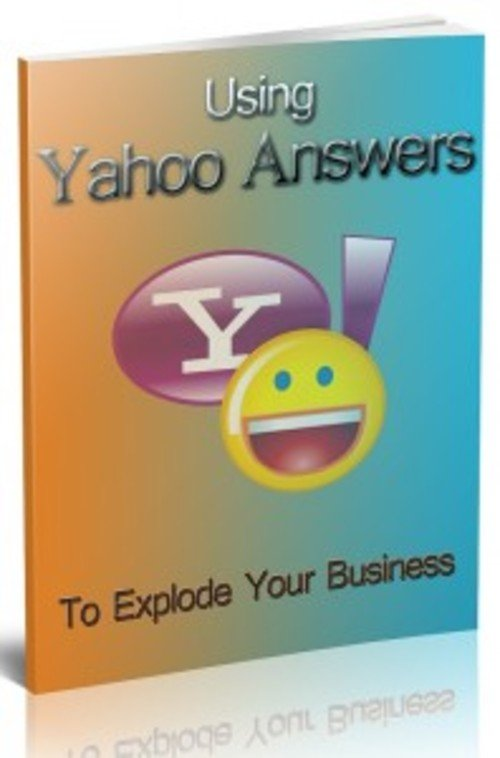 Pay for Using Yahoo Answers - eBook with MRR