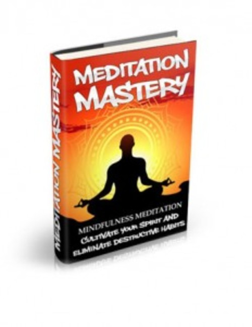 Pay for Mindfulness Meditation - eBook with MRR
