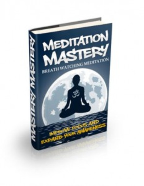 Pay for Breath Watching Meditation - ebook with MRR
