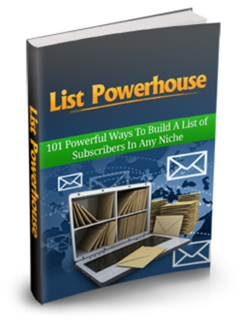 Pay for List Powerhouse - eBook with MRR