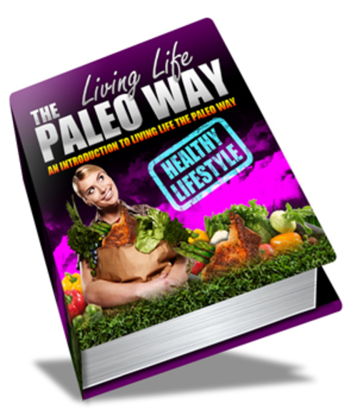 Pay for Living Life The Paleo Way - eBook with MRR