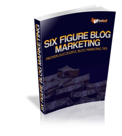Pay for Six Figure Blog Marketing - eBook with MRR