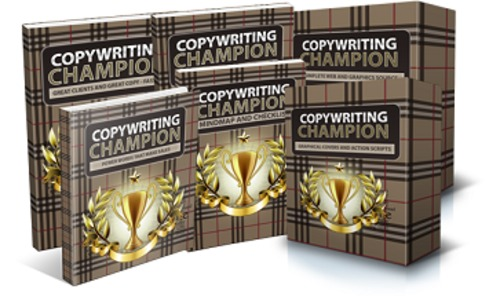 Pay for Copywriting Champion - eBook (Pdf & Audio), Articles, Course with MRR