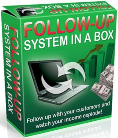 Pay for Follow Up System In A Box - Software with PLR