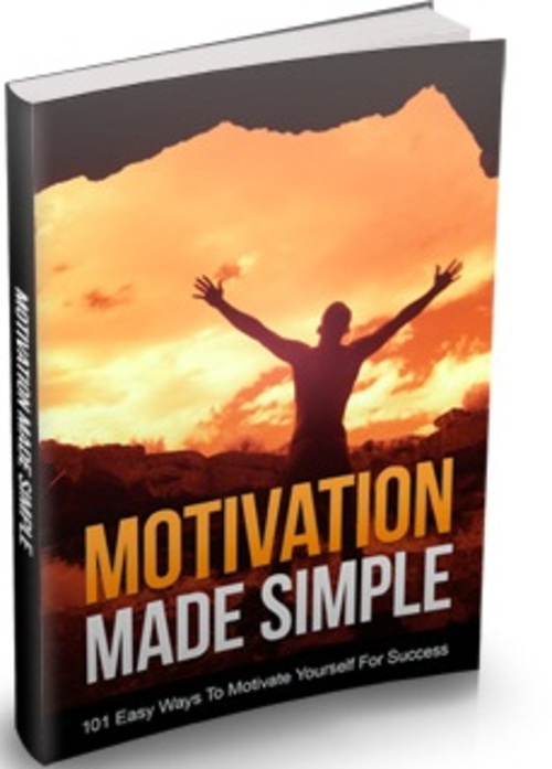 Pay for Motivation Made Simple - eBook with MRR