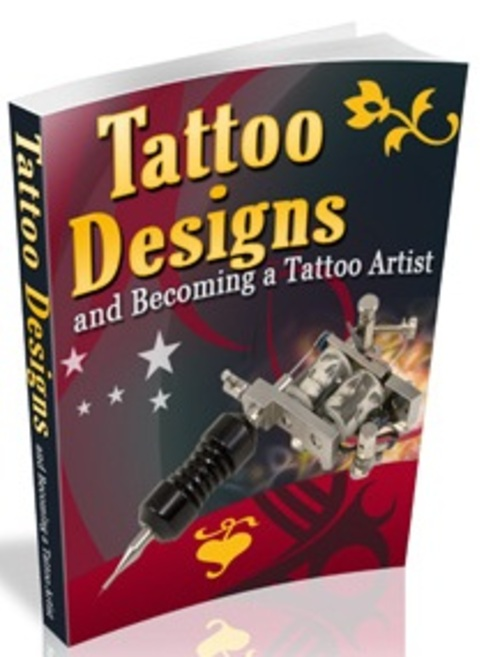 Pay for Tattoos and Tattoo Design - eBook with MRR