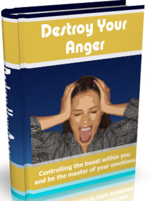Pay for Destroy Your Anger - eBook with MRR