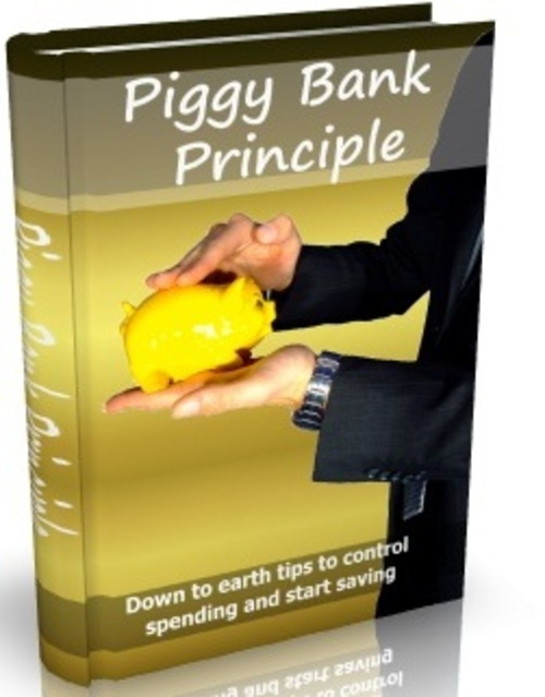 Pay for Piggy Bank Principle - eBook with MRR